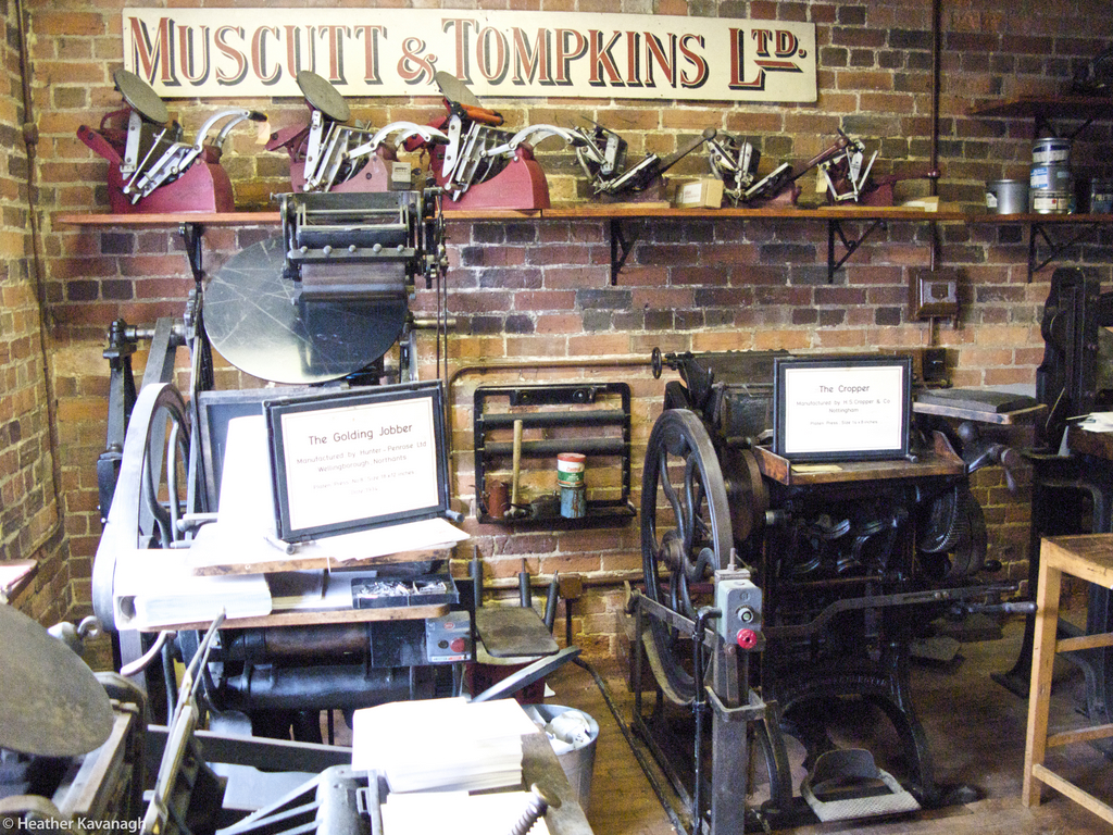 General View, The Print Shop, Milton Keynes Museum
