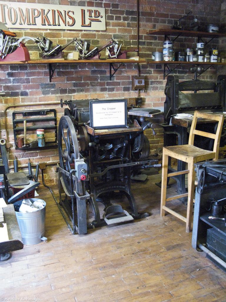 Cropper, The Print Shop, Milton Keynes Museum
