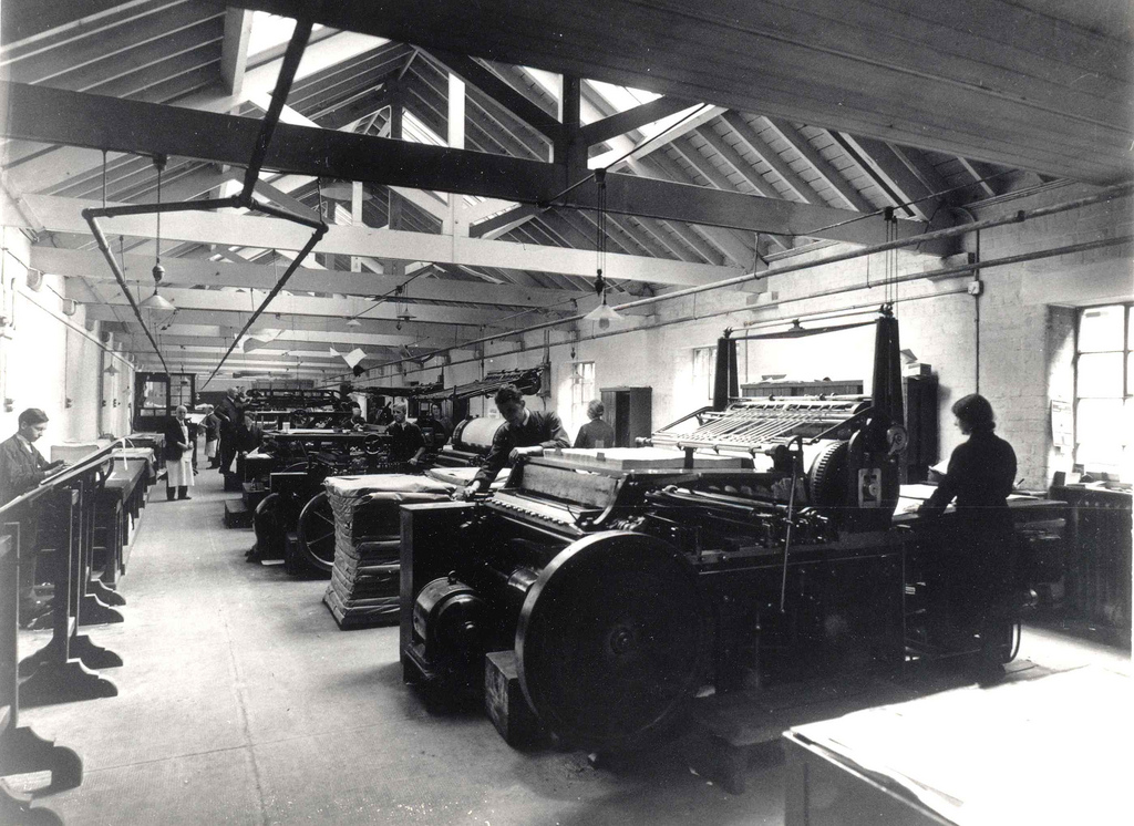Print Room at Oliver and Boyd