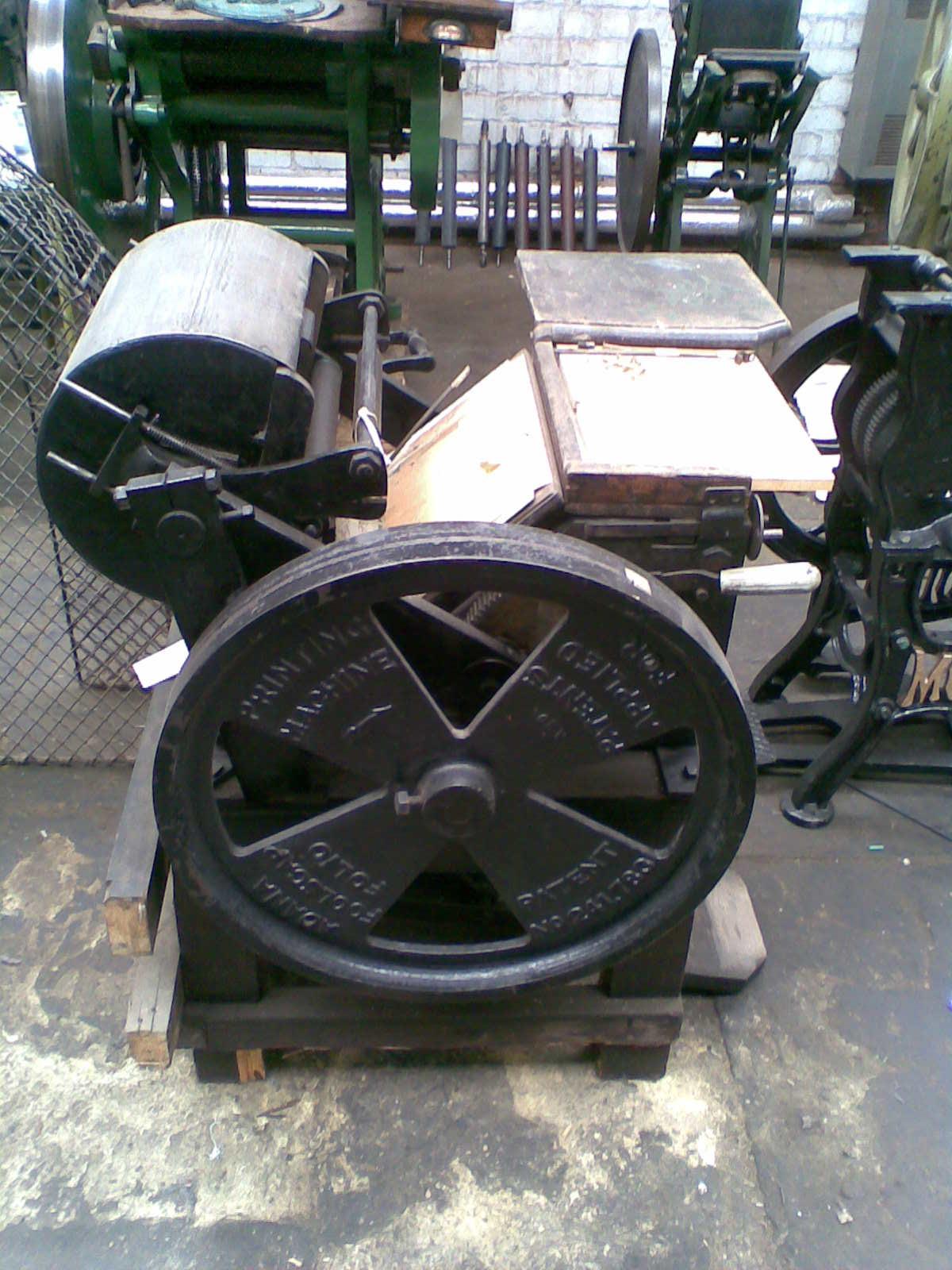 Adana Foolscap Folio Treadle Press (Bradford Industrial Museum)