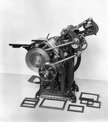 Arab Platen Press (from Science and Society)