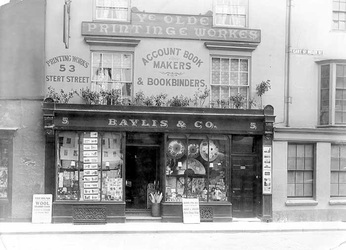 Bayliss Printer, Abingdon (from Heritage Explorer)