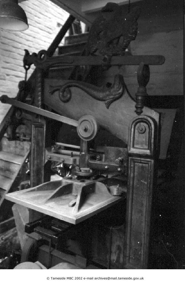 Columbian Press at Greenups Printers (from Tameside Images)