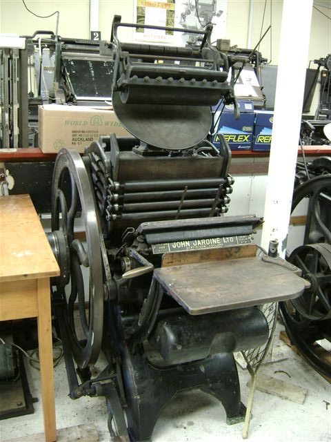 Jardine Treadle Press (Terry Wright)