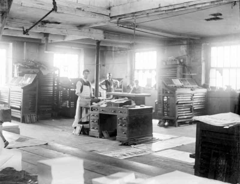 Printing Works (from Kirklees Images)