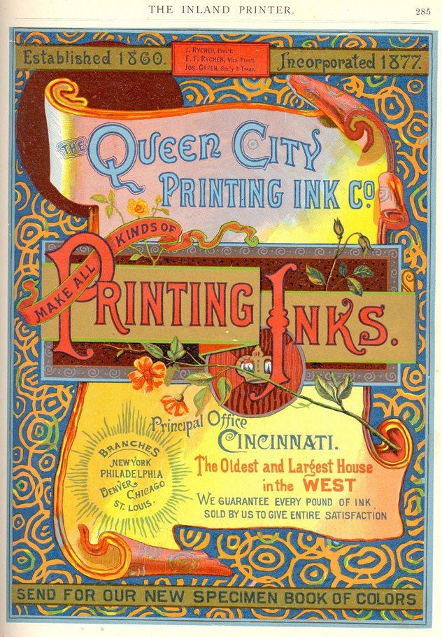 Full Colour Letterpress Example