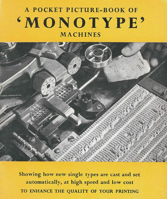 Picture Book of Monotype Machines (ECP)
