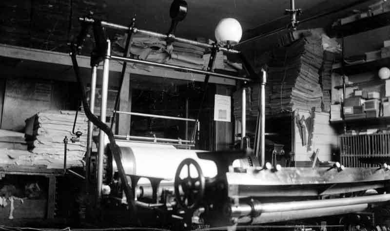 Wharfedale Press (pictured in 1910) (from Kirklees Images)