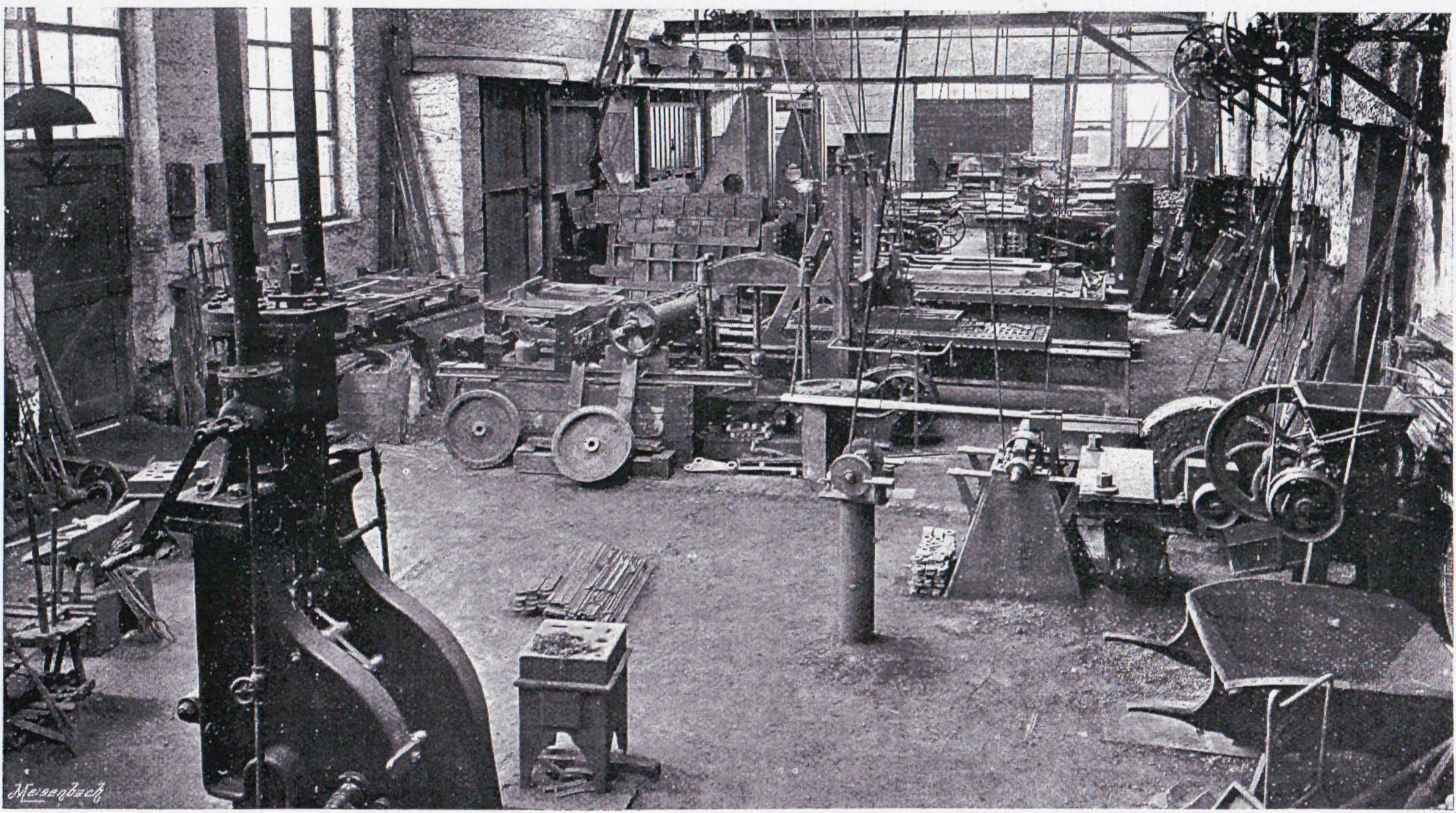 Large Planing Machine with Portion of Forge