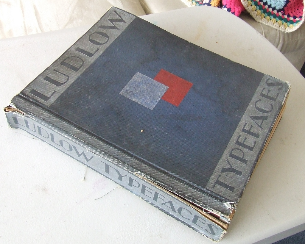 Ludlow Type Specimen Book