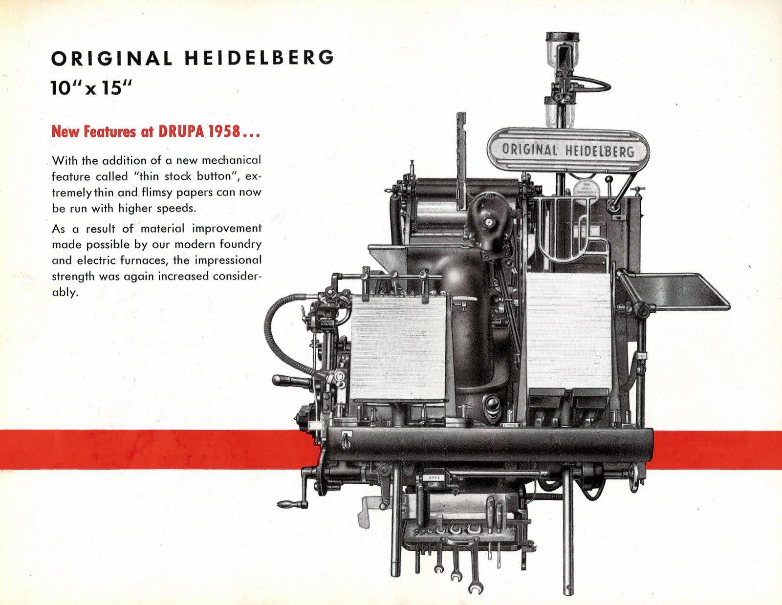 Heidelberg 10 x 15