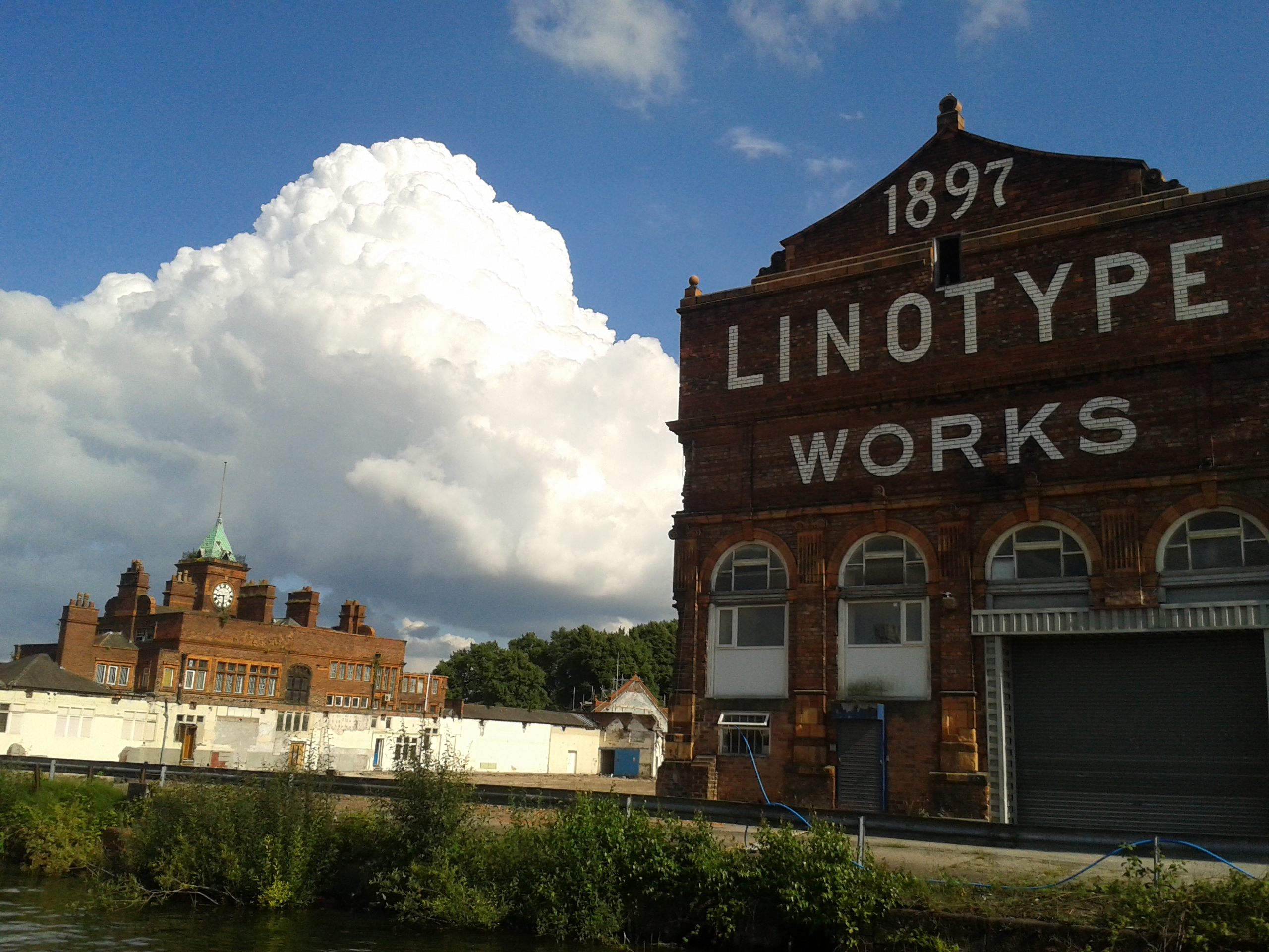 Linotype Works, Altrincham (by David Evans)